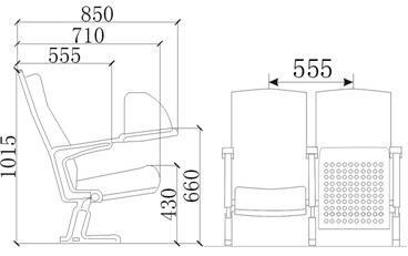 座椅的人体工程学标准设计椅子尺寸